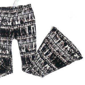 Karlie Tye Dye Bell Bottom Flare Legging Pants